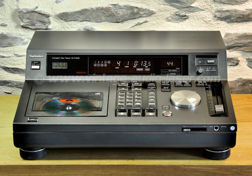 Technics SL-P1200B CD播放机