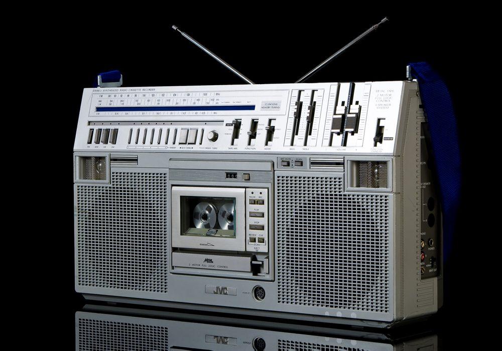 JVC RC-M80 单卡四喇叭收录机
