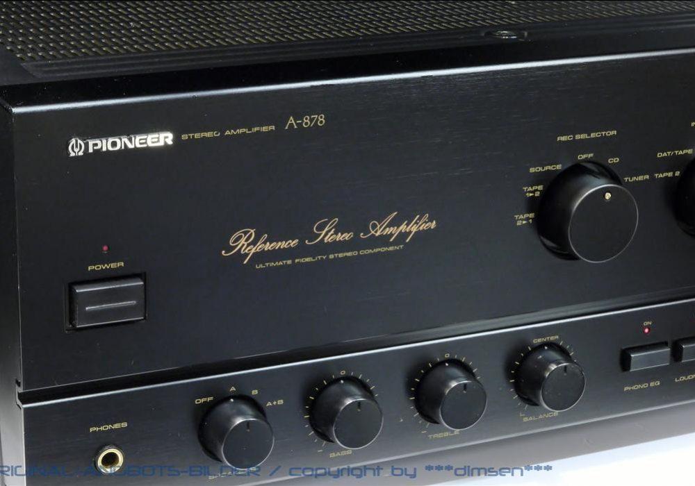 先锋 PIONEER A-878 功率放大器