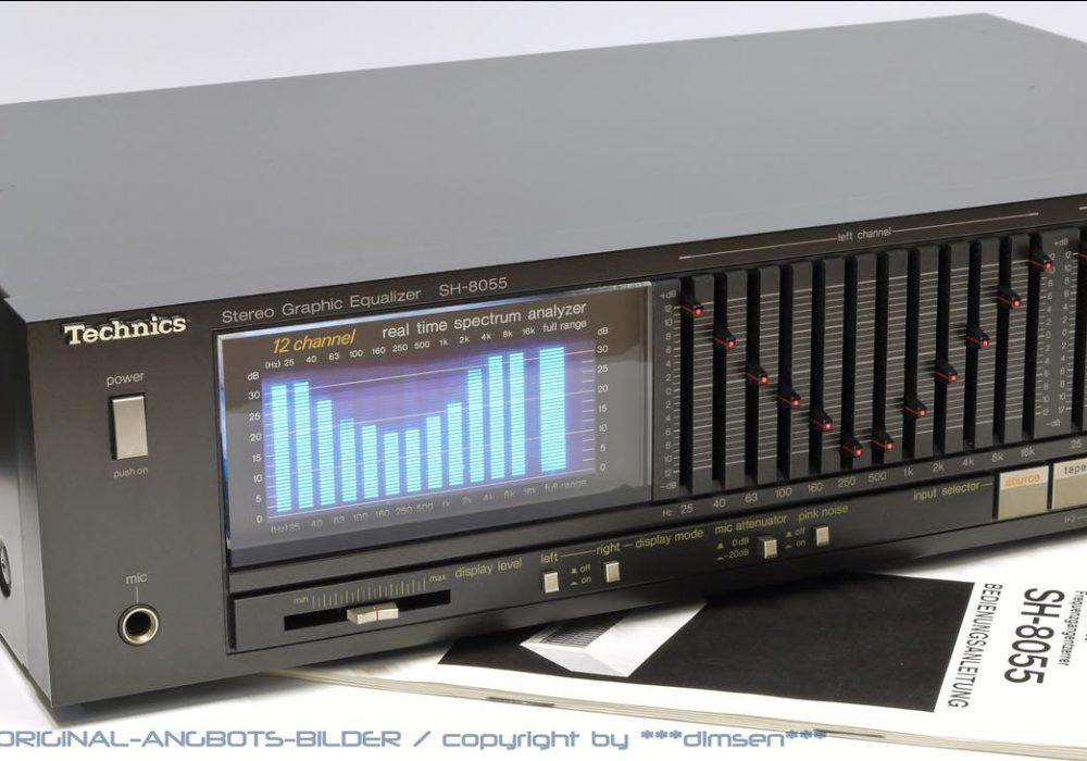 松下 Technics SH-8055 图示均衡器