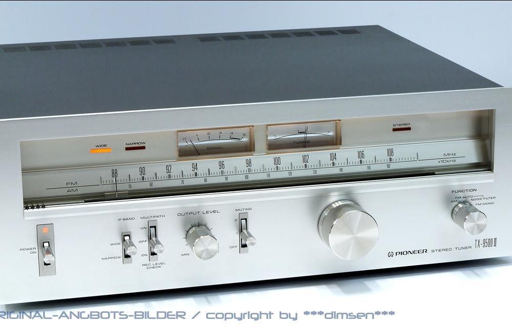 先锋 PIONEER TX-9500II FM/AM 立体声收音头
