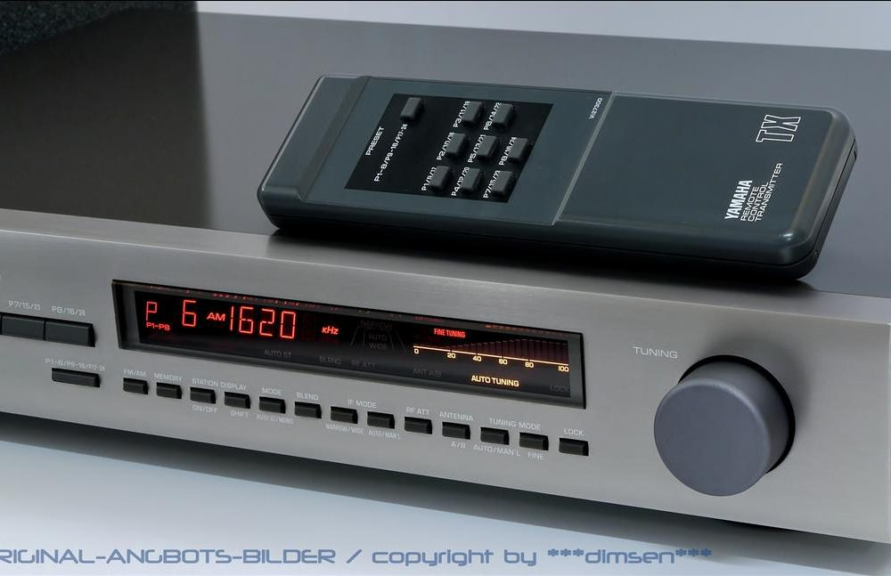 雅马哈 YAMAHA TX-930 RS 数字调谐收音头