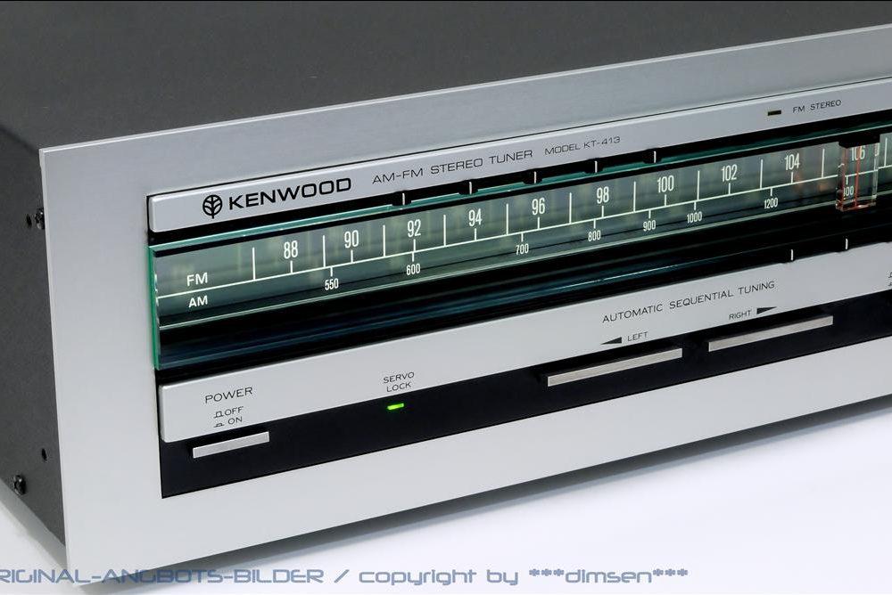 建伍 KENWOOD KT-413 AM/FM 立体声收音头