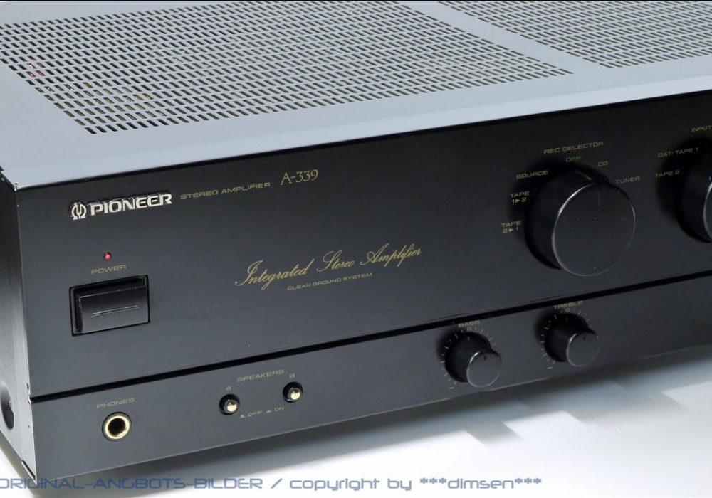 先锋 PIONEER A-339 立体声功率放大器