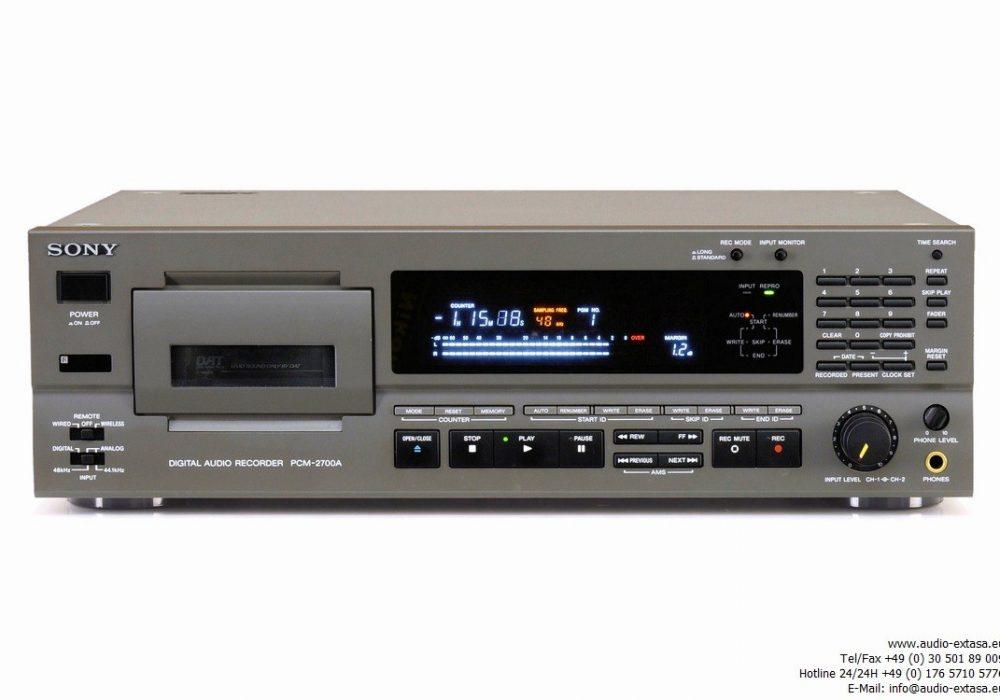 索尼 SONY PCM-2700A DAT 播放机