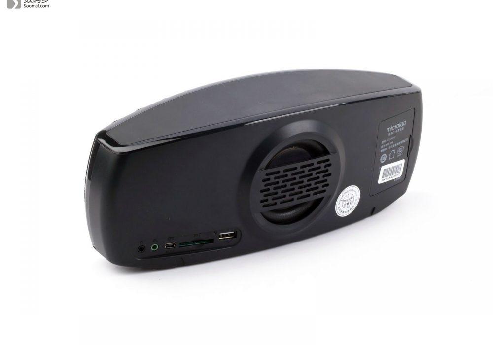 Microlab 麦博 乐界 ULIX310 微型音响-背部