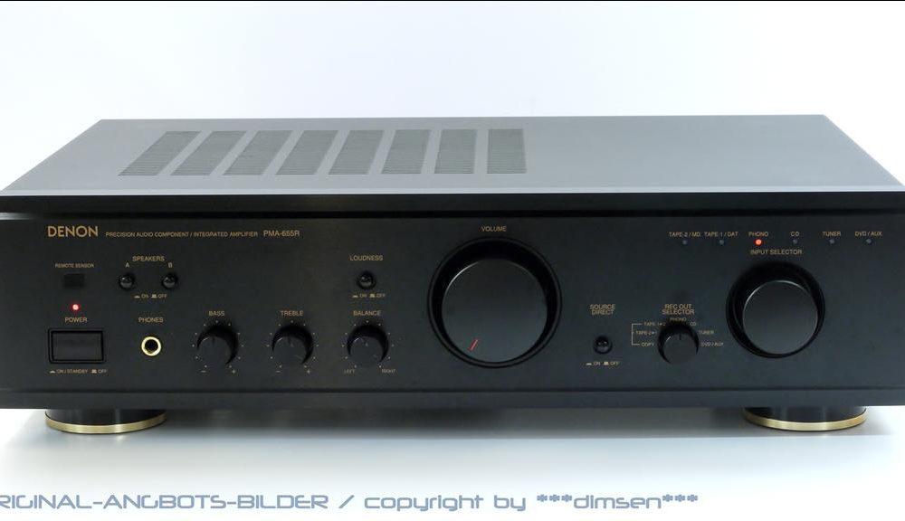 天龙 DENON PMA-655R 功率放大器