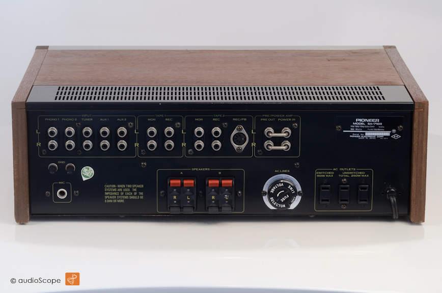 先锋 PIONEER SA-7100 Integrated Amp