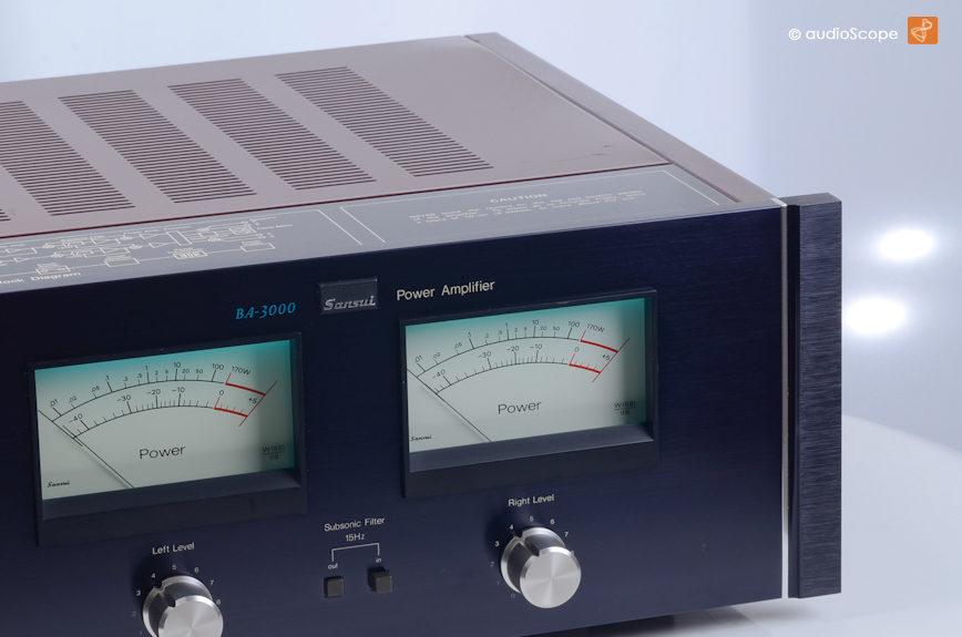 山水 SANSUI BA-3000 Power Amplifier