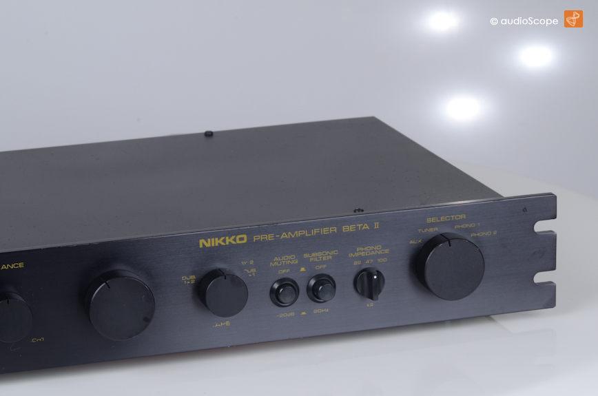 Nikko Beta II & Alpha III 前后级功放