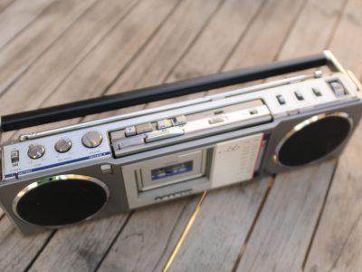 三洋 SANYO M-X66 收录机 子母机 磁带随身听