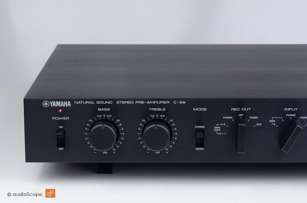 Yamaha C-2a Reference Preamplifier