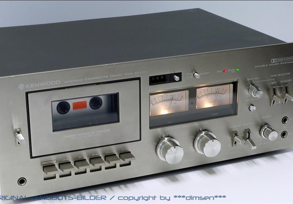 建伍 KENWOOD KX-1003 双表三磁头卡座