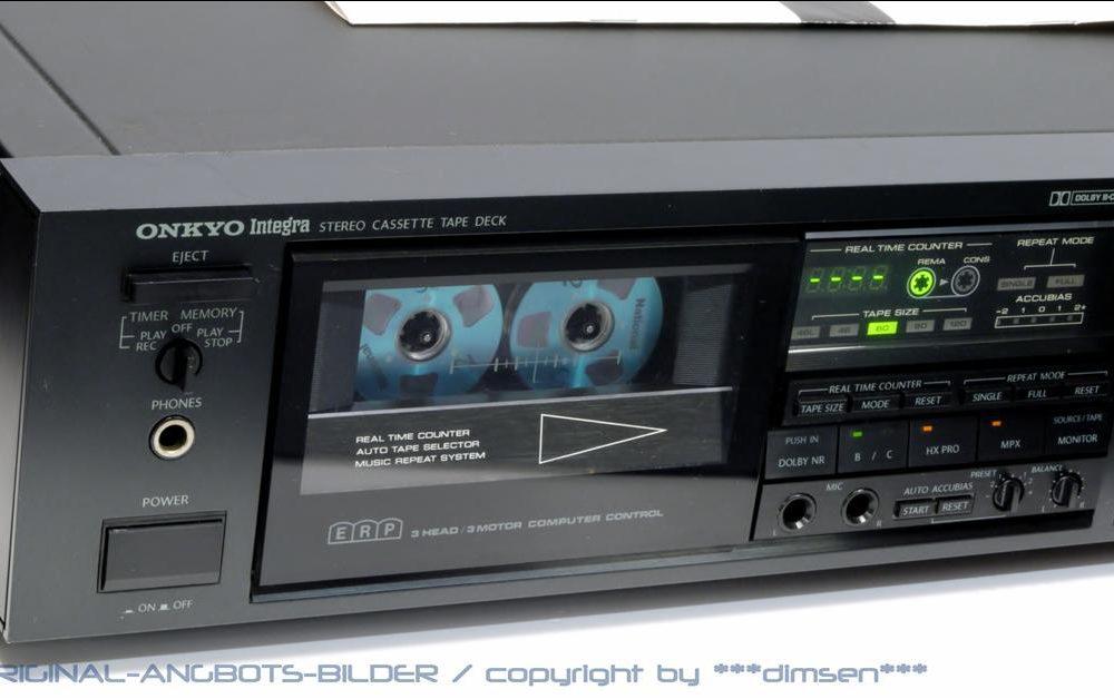 安桥 ONKYO Integra TA-2360 三磁头三电机立体声卡座