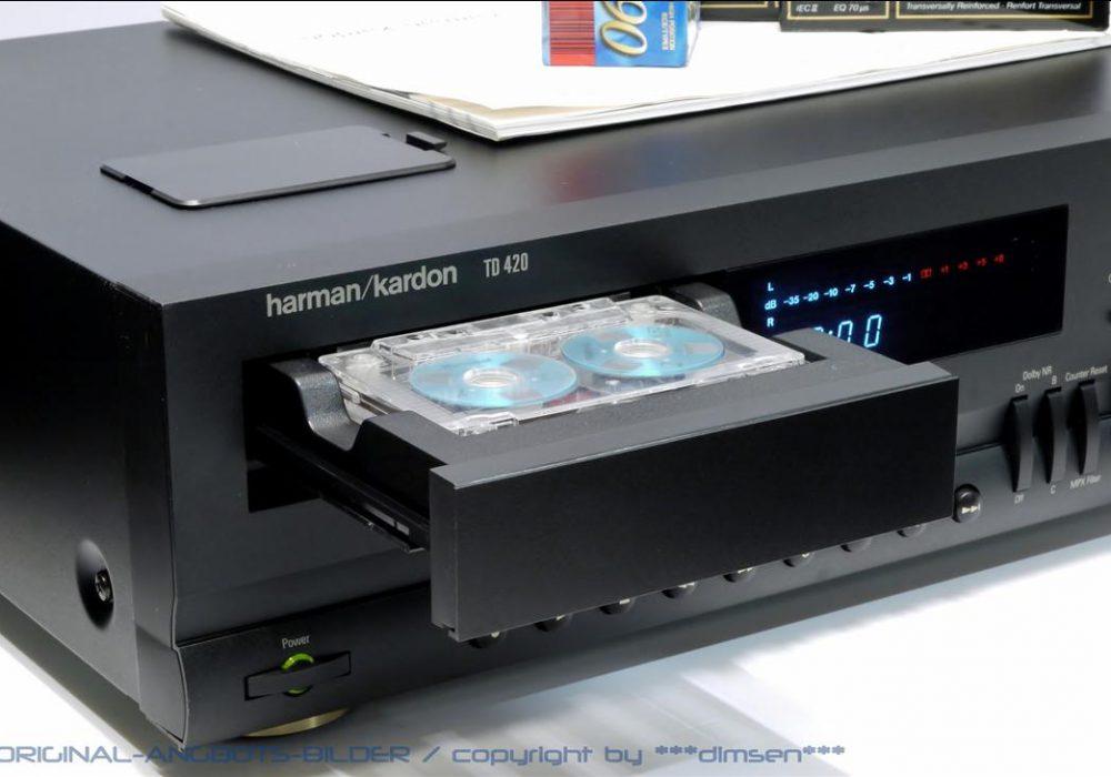 哈曼卡顿 Harman Kardon TD420 立体声卡座