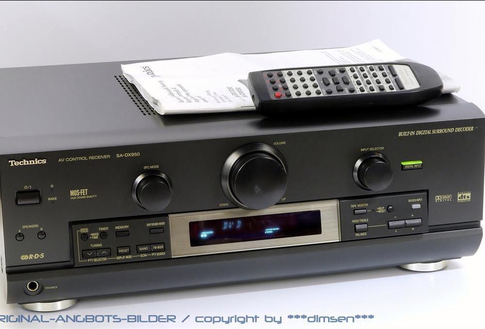 松下 Technics SA-DX950 AV功率放大器