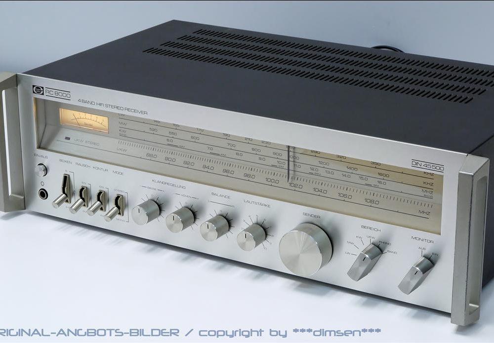 Elite RC 8000 四波段收音头