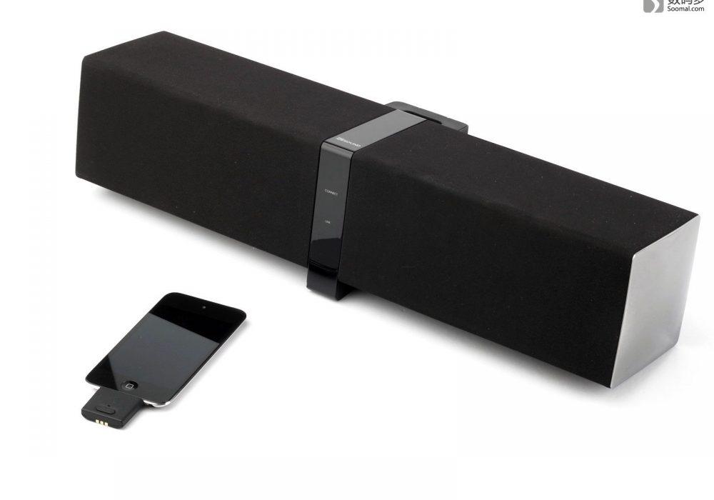 Creative 创新 ZiiSound D5x 蓝牙无线音箱-安装了适配器的iPod Touch 4