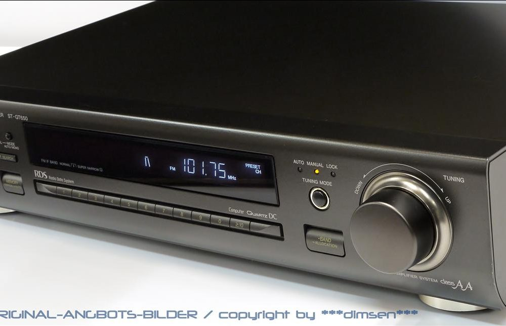 松下 Technics ST-GT650 数字调谐收音头