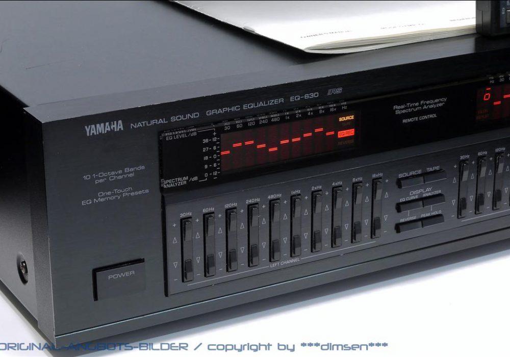 雅马哈 YAMAHA EQ-630 图形均衡器