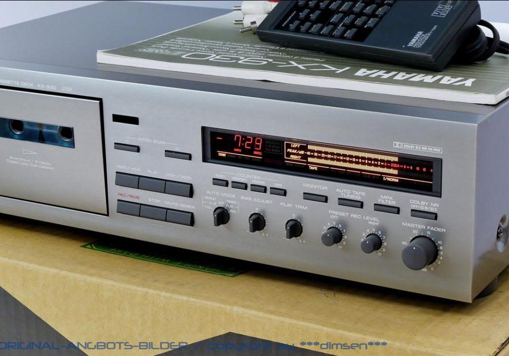 雅马哈 YAMAHA KX-930 三磁头卡座
