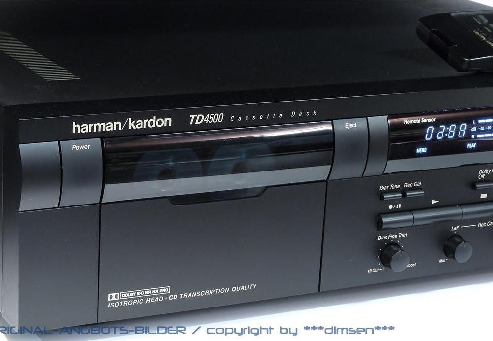 哈曼卡顿 Harman Kardon TD4500 立体声卡座
