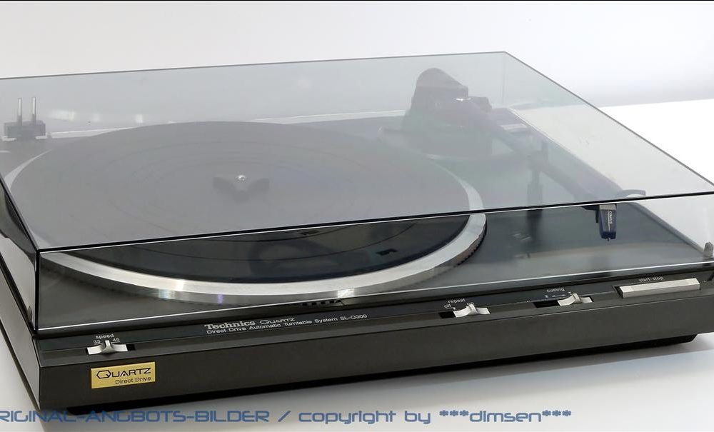松下 Technics SL-Q300 黑胶唱机