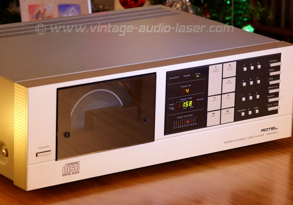 Rotel RCD-870 CD播放机