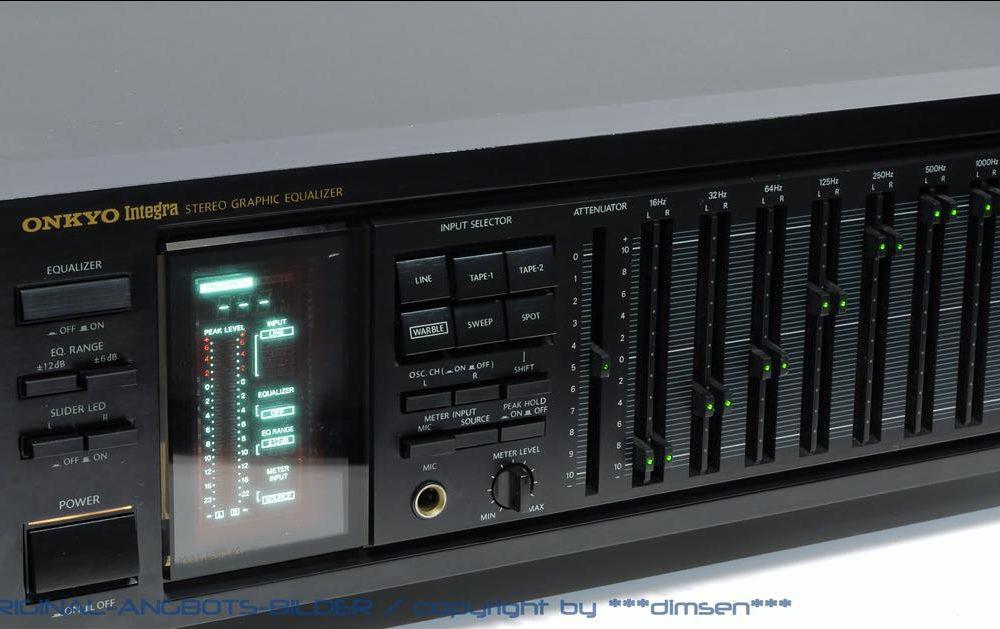 安桥 ONKYO Integra EQ-540 图示均衡器