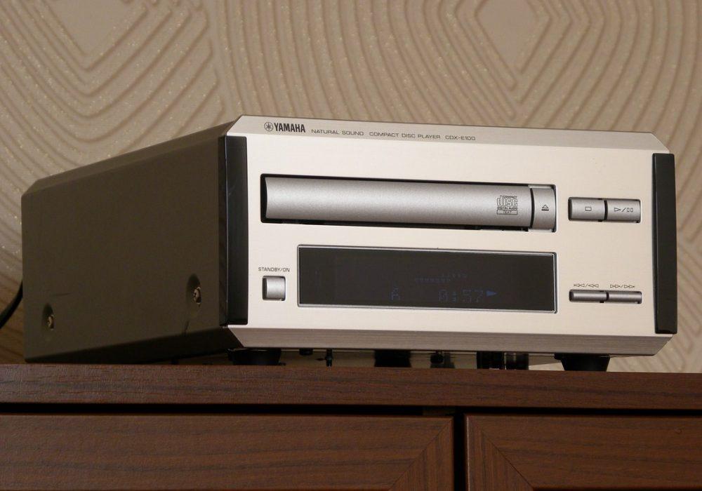 YAMAHA CDX-E100 桌面CD机