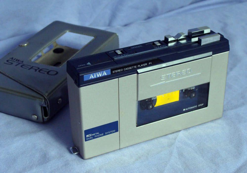 爱华 AIWA TP-S30 + AIWA HS-F1 磁带随身听
