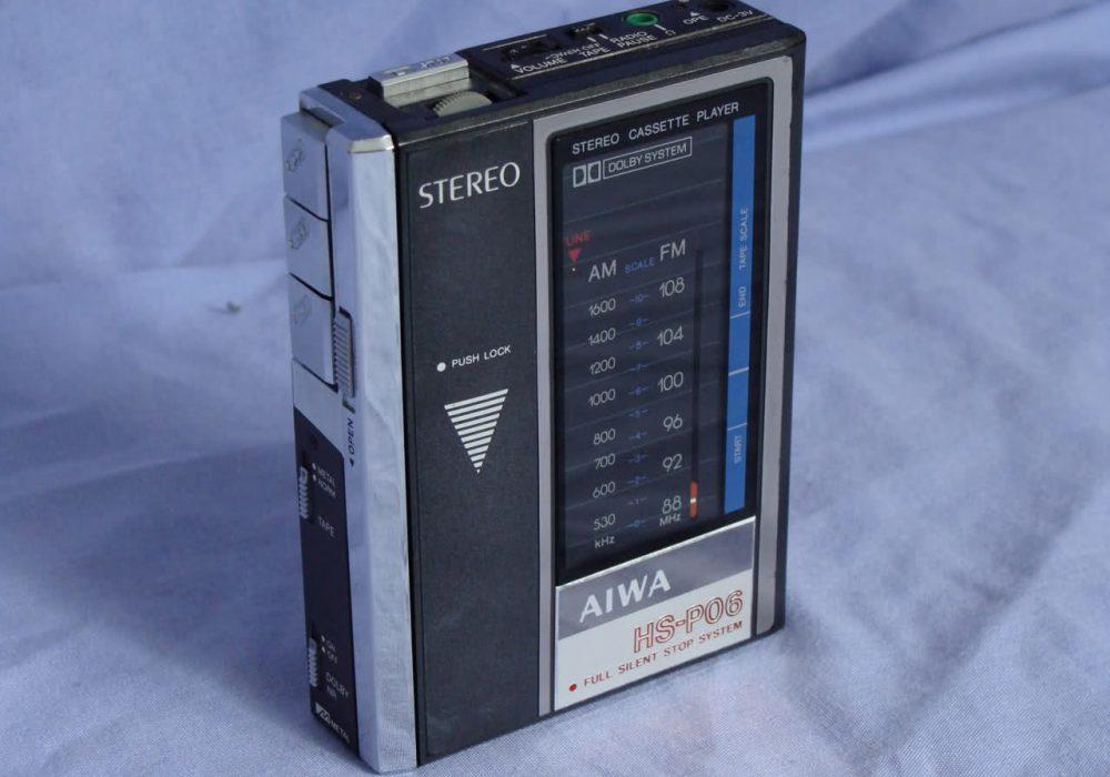 爱华 AIWA HS-P3,HS-P3X,HS-J300,HS-P06 磁带随身听