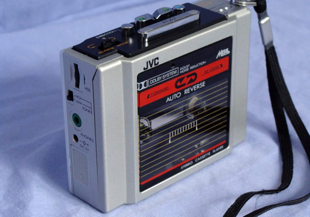 JVC CQ-1K,CQ-11K,MQ-5K,PC-M100,CX-5K,CX-7K 磁带随身听