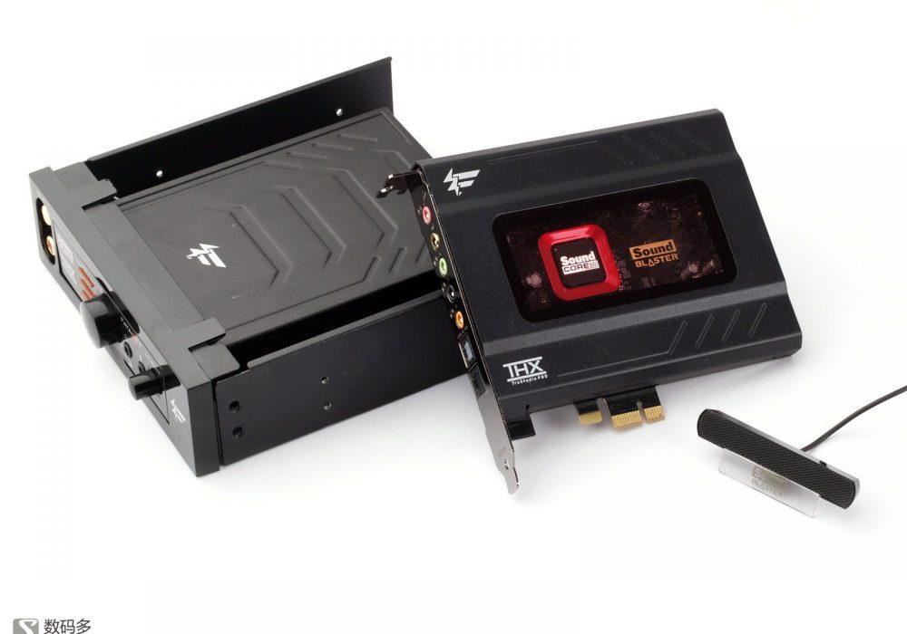 创新 Creative Sound Blaster Recon3D Fatal1ty Champion PCIe 声卡拆解 图集[Soomal]