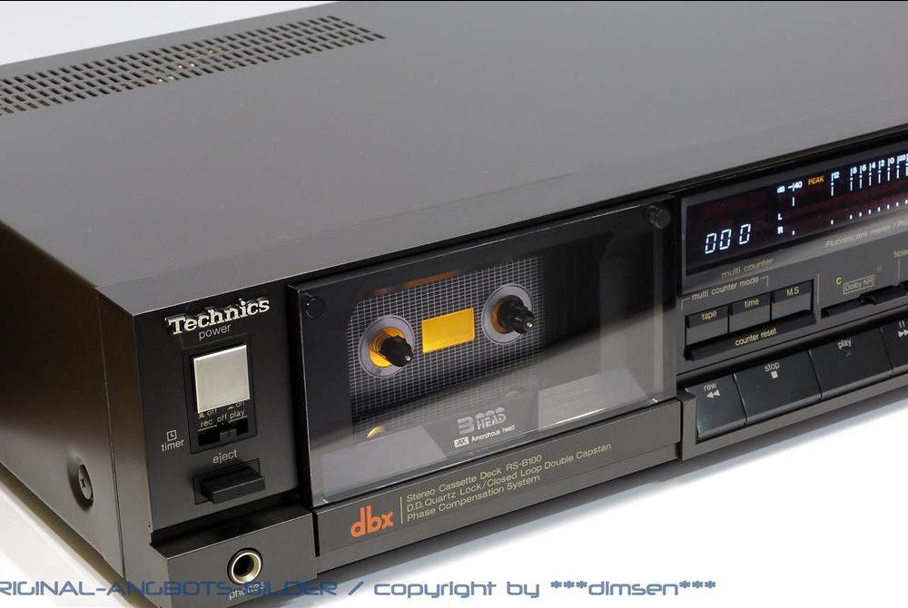 松下 Technics RS-B100 三磁头卡座