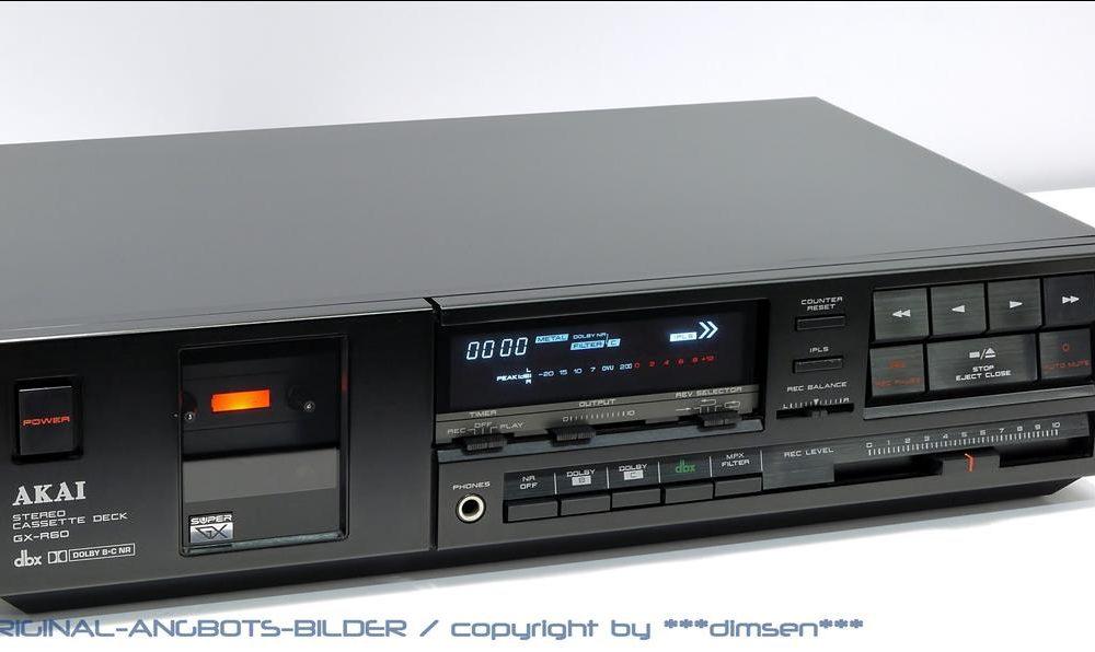 雅佳 AKAI GX-R60 立体声卡座