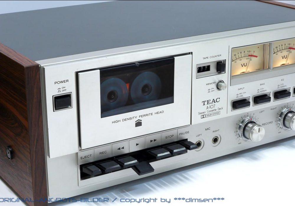 TEAC A-107 双表头立体声卡座