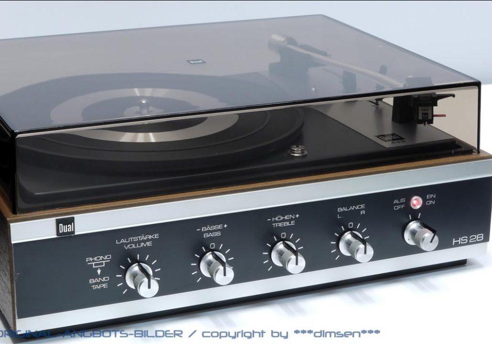 DUAL HS 28 黑胶唱机
