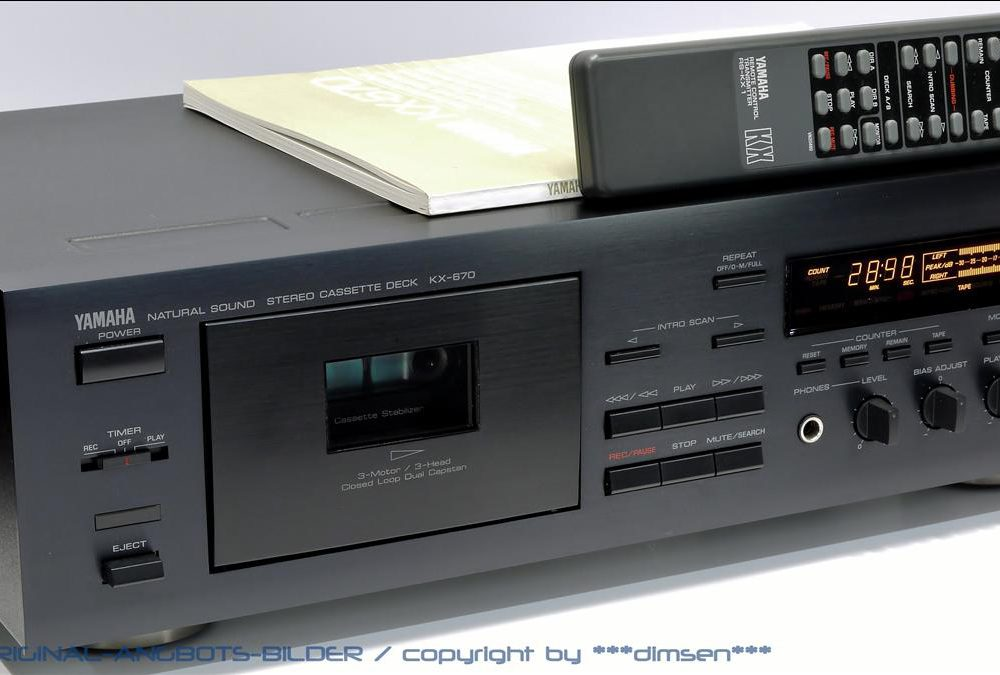 雅马哈 YAMAHA KX-670 立体声卡座