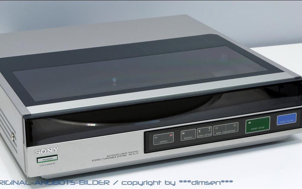 索尼 SONY PS-FL77 黑胶唱机