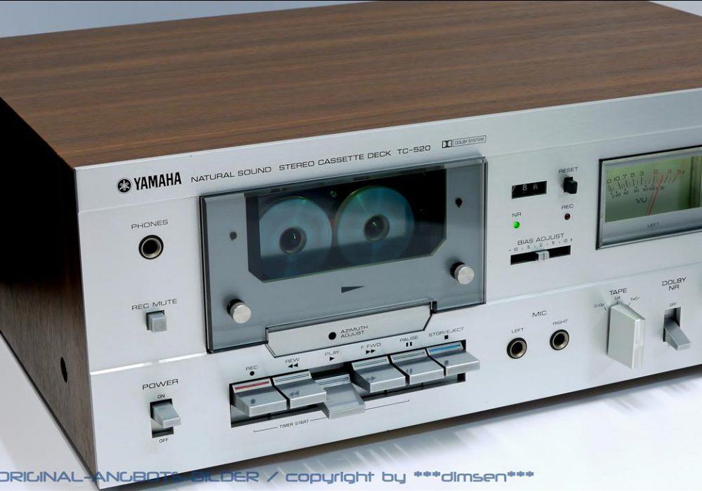 雅马哈 YAMAHA TC-520 双表头立体声卡座