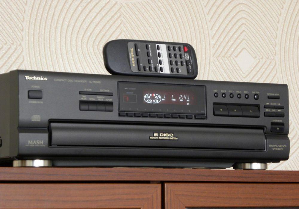 Technics SL-PD888 5碟连放 CD播放机