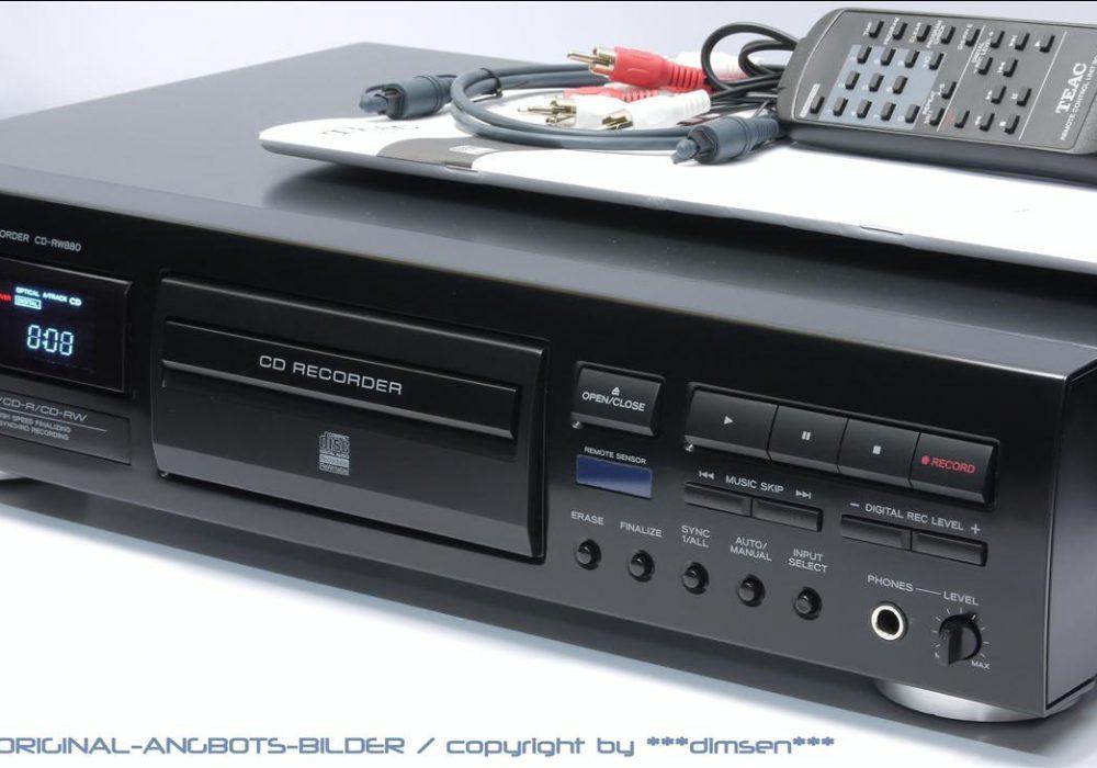 TEAC CD-RW880 CD录音播放机