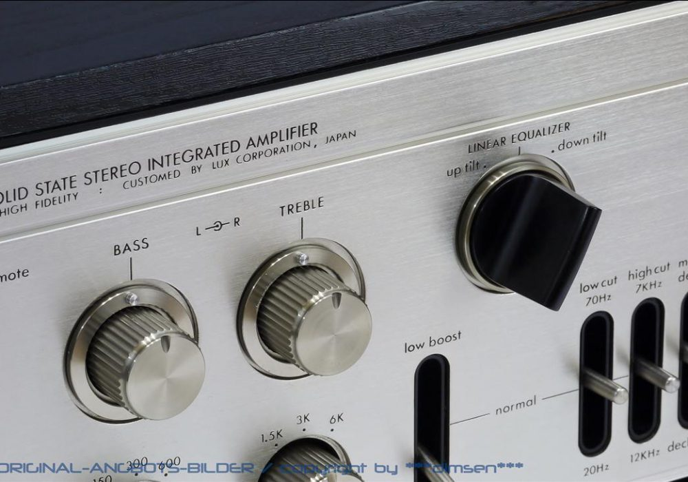 力士 LUXMAN L-308 晶体管合并式功率放大器