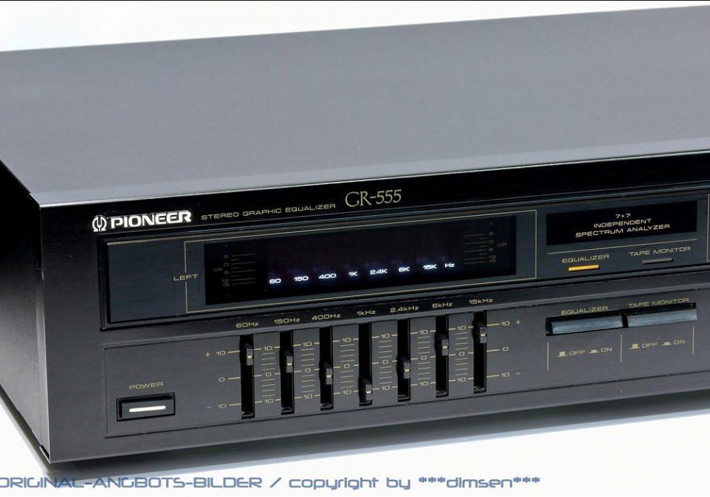 先锋 PIONEER GR-555 频谱图示均衡器