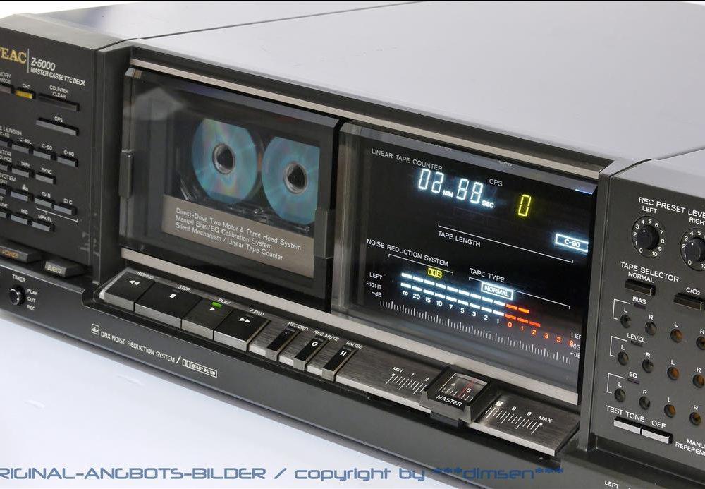 TEAC Z-5000 直驱三磁头高级卡座