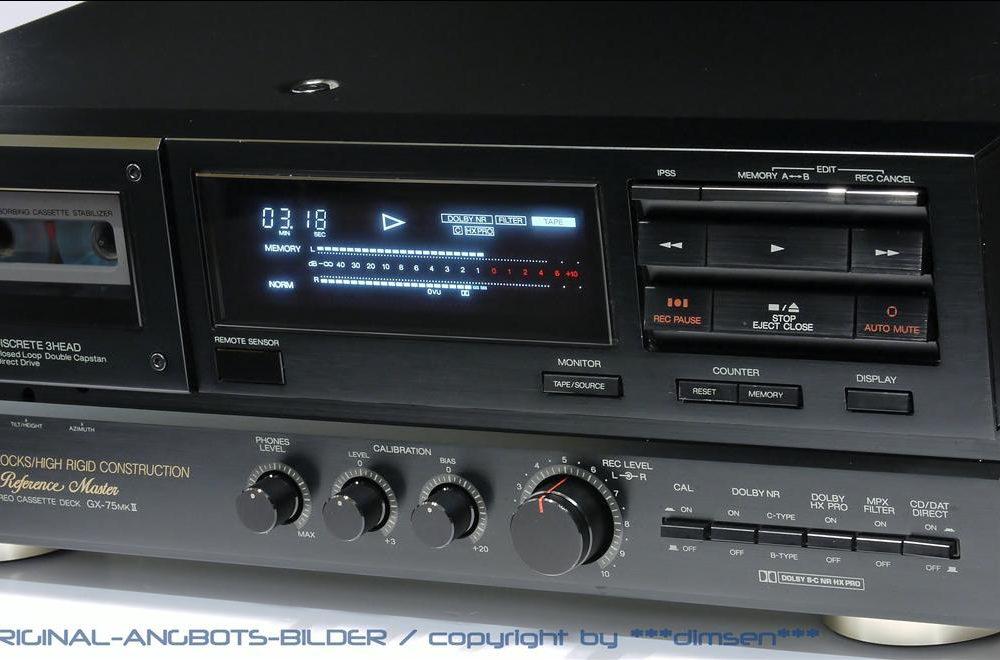 雅佳 AKAI GX-75mkII 三磁头卡座