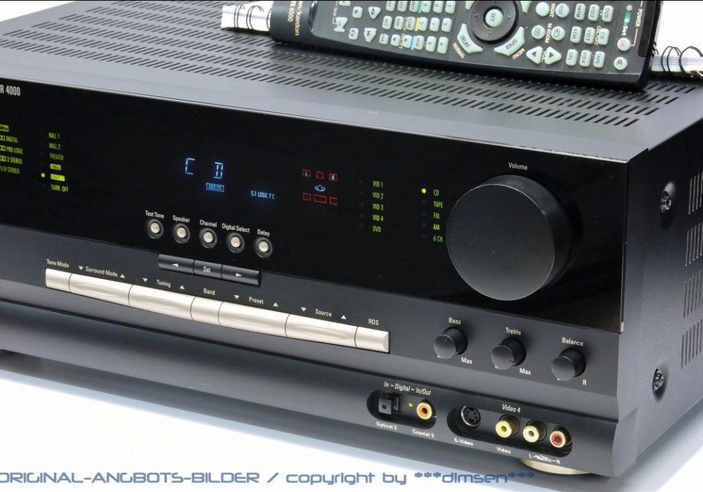 哈曼卡顿 Harman Kardon AVR-4000 家庭影院AV功放