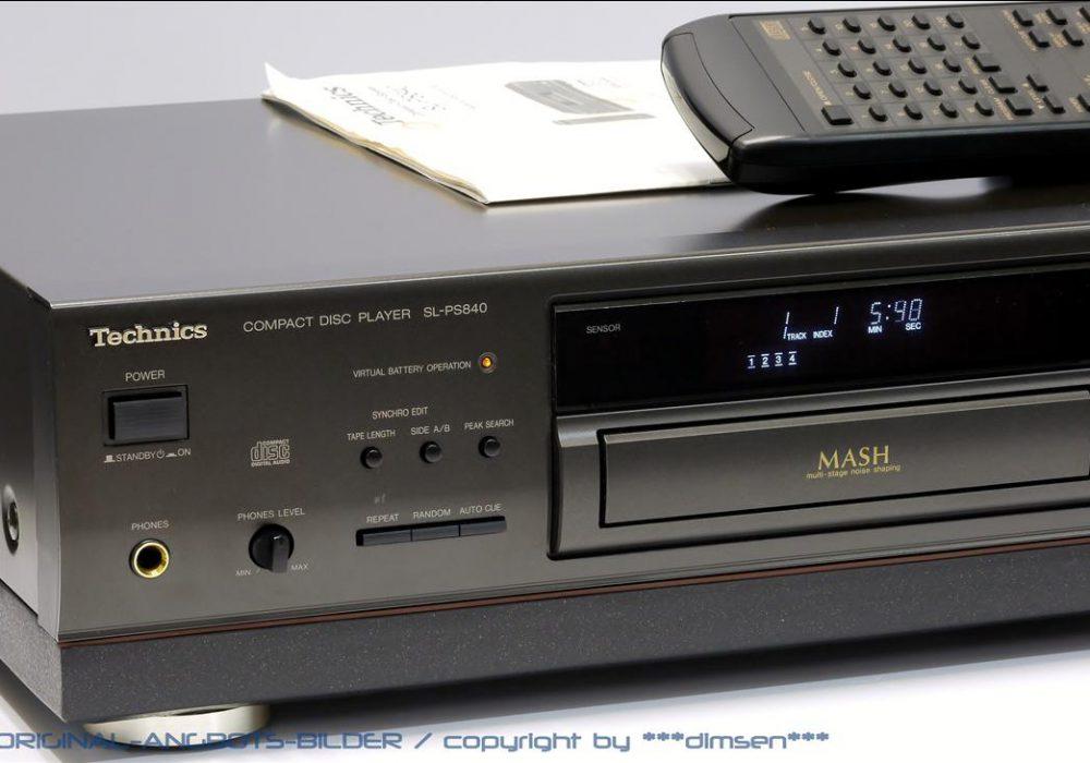 松下 Technics SL-PS840 CD播放机