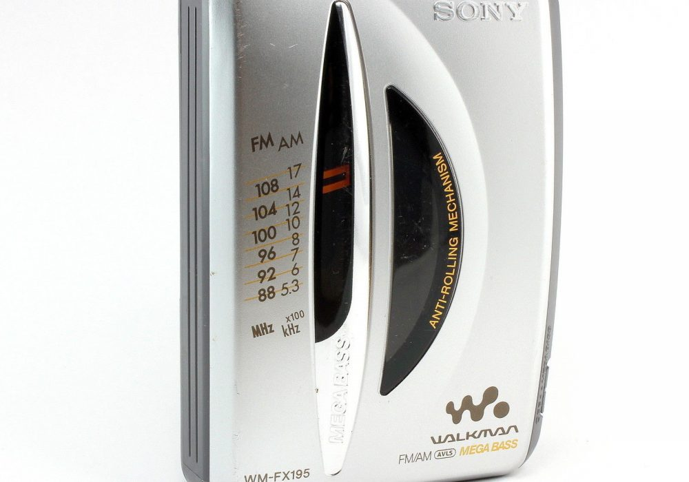 SONY WM-FX195 随身听 AM/FM Stereo 磁带播放机 For Parts Tape Not Working